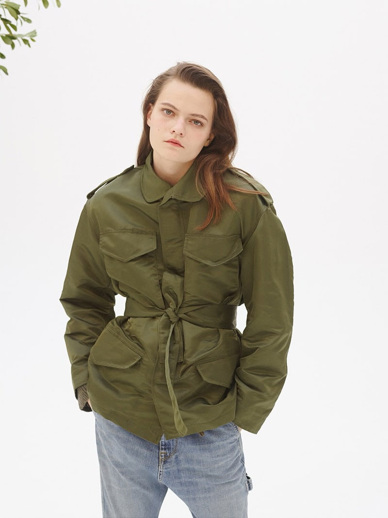 Nili Lotan Easton Tech-Twill Jacket