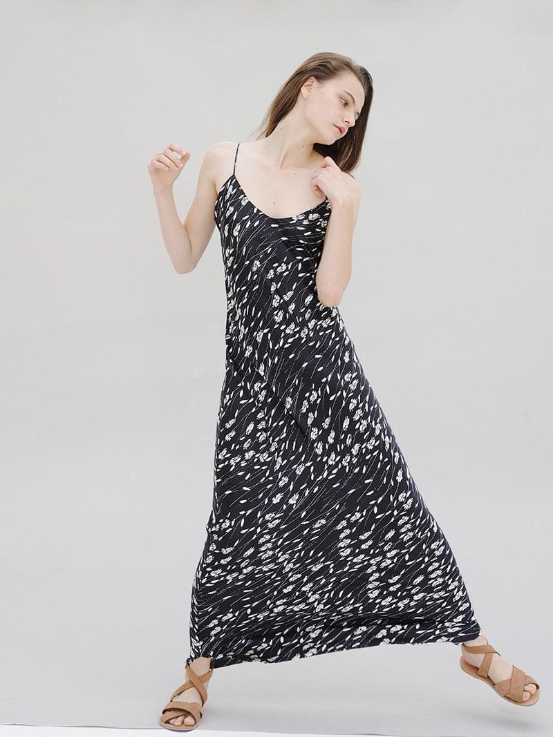 Nili Lotan Silk Satin Gown