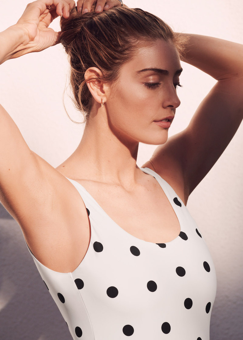 & Other Stories Polka Dots Swimsuit