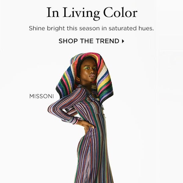 Spring 2018 Trends // In Living Color