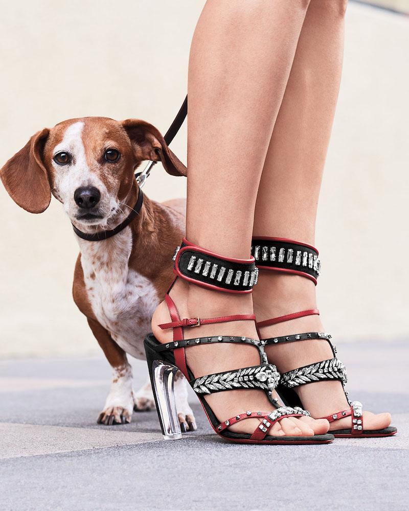 Valentino Garavani Odissey Runway Embellished Sandal