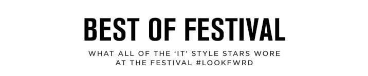 Best of Festival - Shop the edit