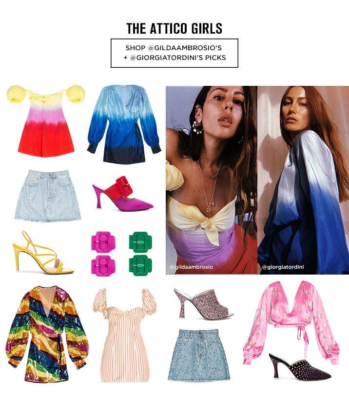 Attico Girls - Shop @gildaambrosio's + @giorgiatordini's picks