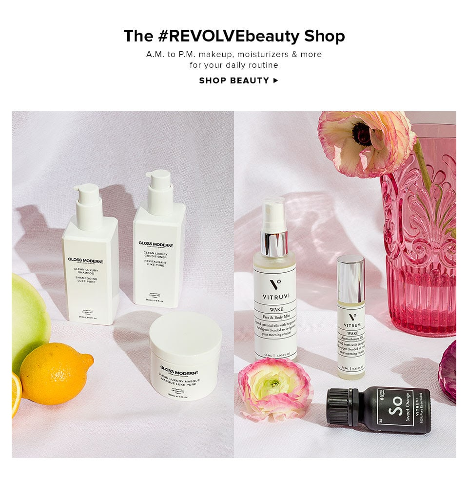 The #REVOLVEbeauty Shop. A.M. to P.M. Makeup, moisturizers, and more for your daily routine. Shop Beauty