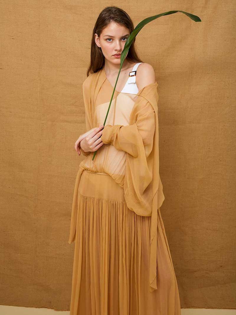 Albus Lumen Lucia Silk Dress