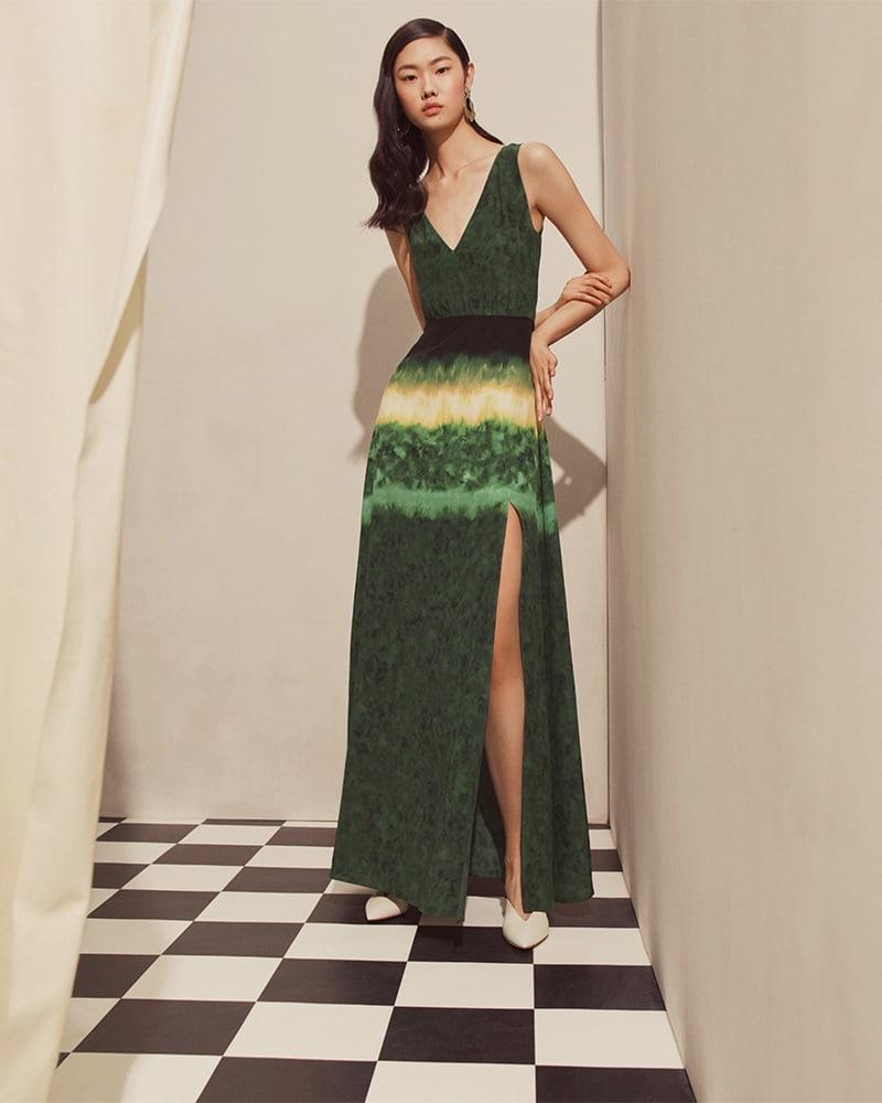Altuzarra Ilari Tie-Dyed Dress