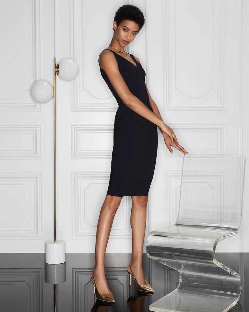 Chiara Boni La Petite Robe Naktis Sleeveless Dress with Twisted Waist