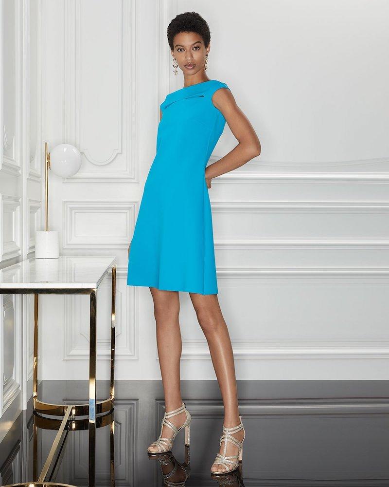 Chiara Boni La Petite Robe Palomina Cutout Mini Dress