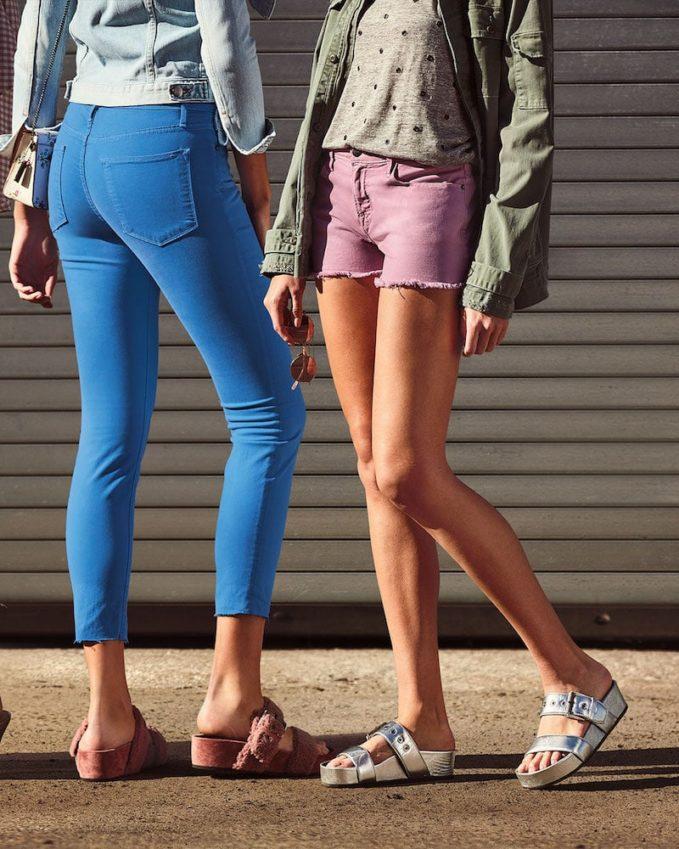 FRAME Le High Skinny-Leg Jeans with Raw-Edge Hem