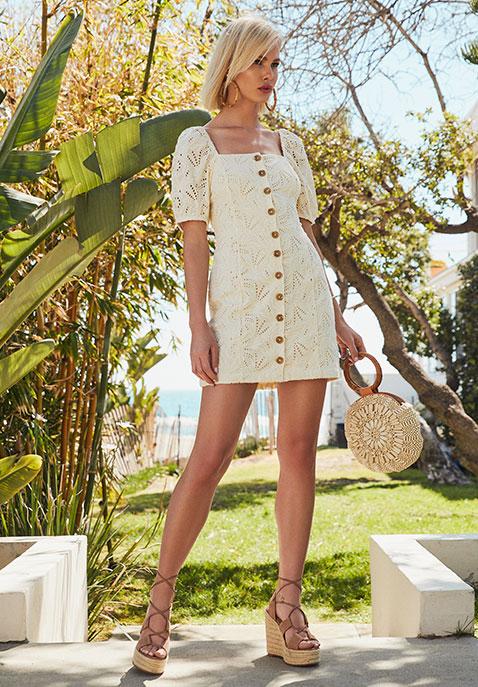 Free People Daniella Mini Dress