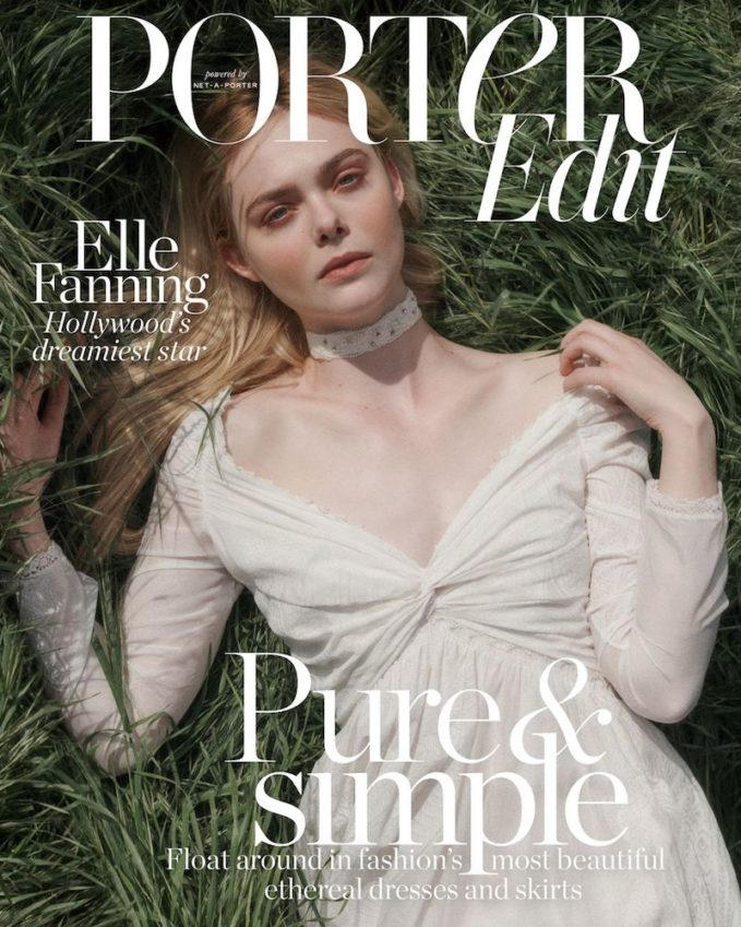 Heavenly Creature: Elle Fanning for The EDIT