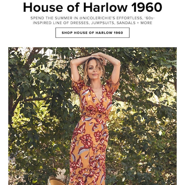 House of Harlow 1960 x REVOLVE Summer 2018 Collection