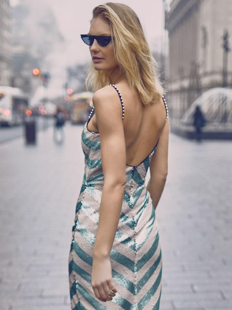 Johanna Ortiz M O Exclusive Salon De Paris Sequin Dress