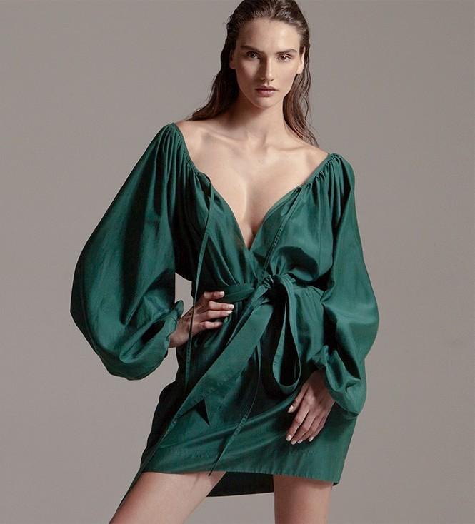 Kalita Pegasus Silk & Cotton Minidress