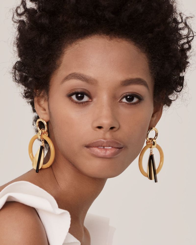 Lizzie Fortunato Amber Modern Earrings
