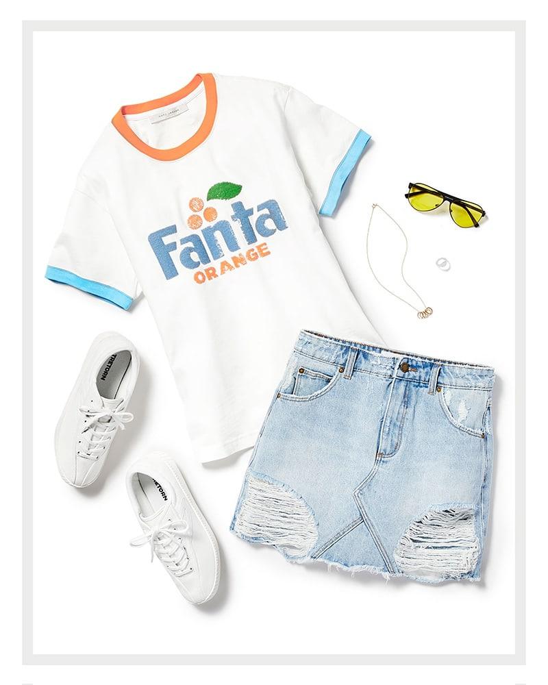 Marc Jacobs Fanta Tee Shirt