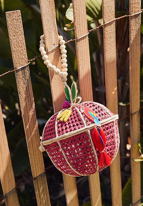Mercedes Salazar Manzana Tropical Bag