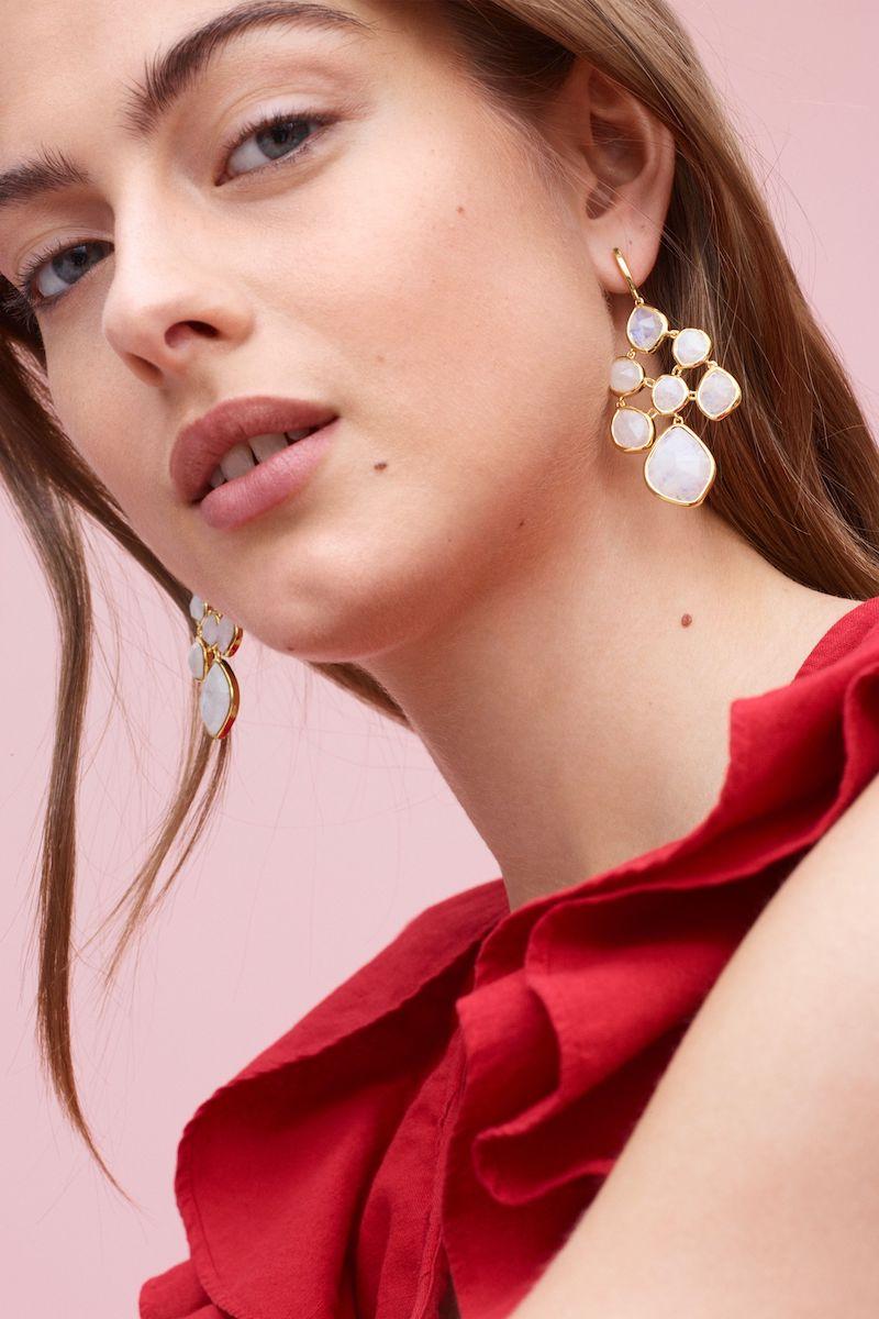 Monica Vinader Siren Chandelier Earrings