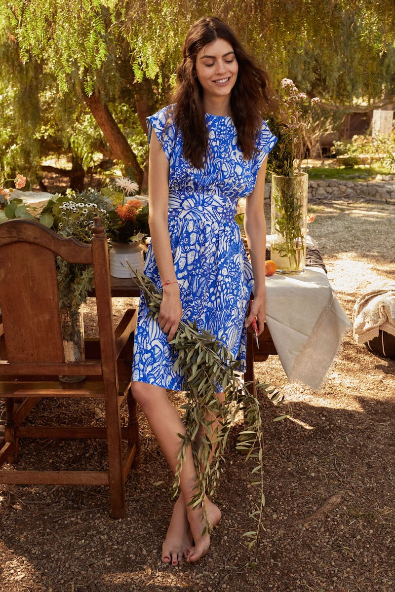 & Other Stories Printed Tea Dress