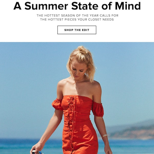 REVOLVE Editorial // A Summer State of Mind