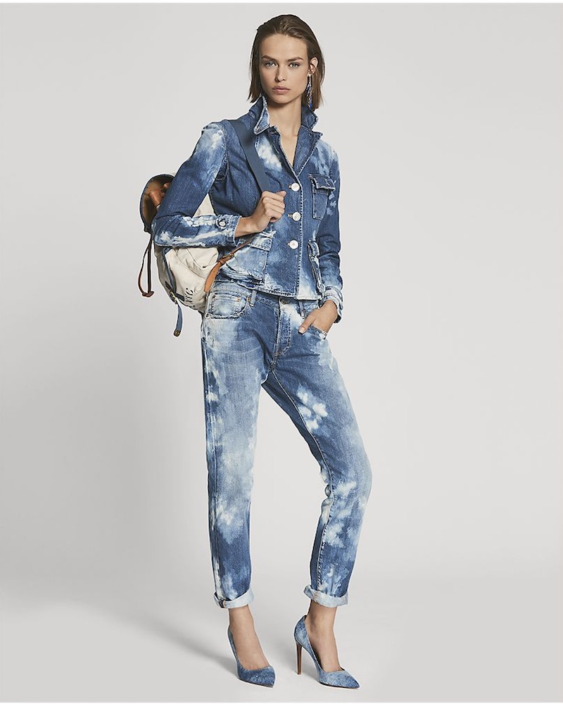 Ralph Lauren Collection 173 Relaxed Fit Straight Jean