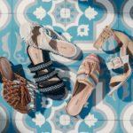 Schutz Emily Tassel Sandals
