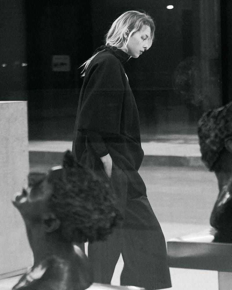 Stella McCartney Black Faux-Leather Mya Trousers