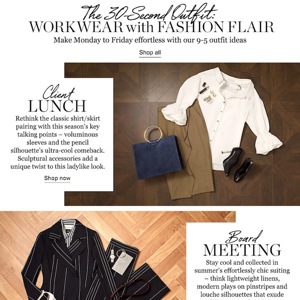 The 30-Second Outfit // Workwear With Fashion Flair