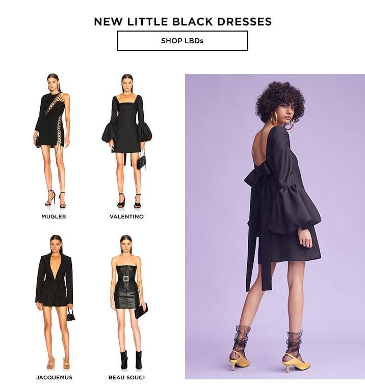 New Little Black Dresses - Shop LBDs