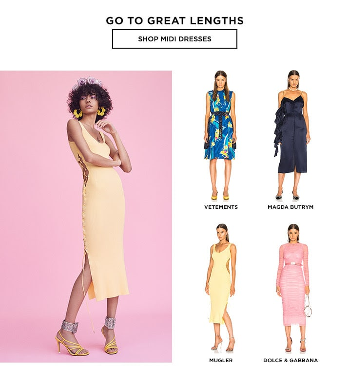Go to Great Lengths - Shop Midi Dresses