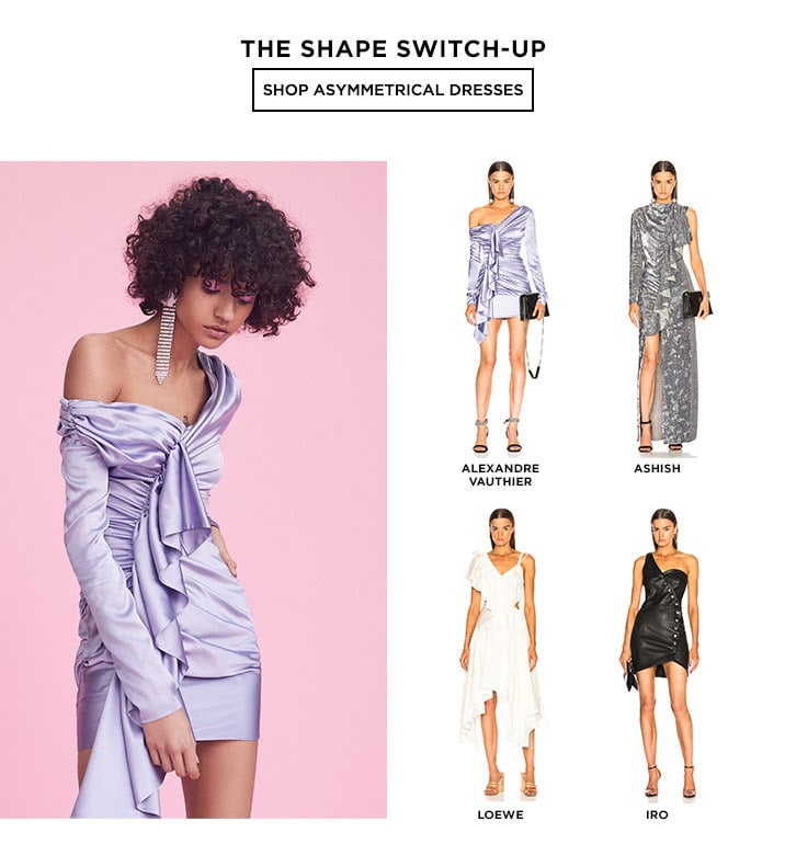 The Shape Switch-Up - Shop Asymmetrical Dresses