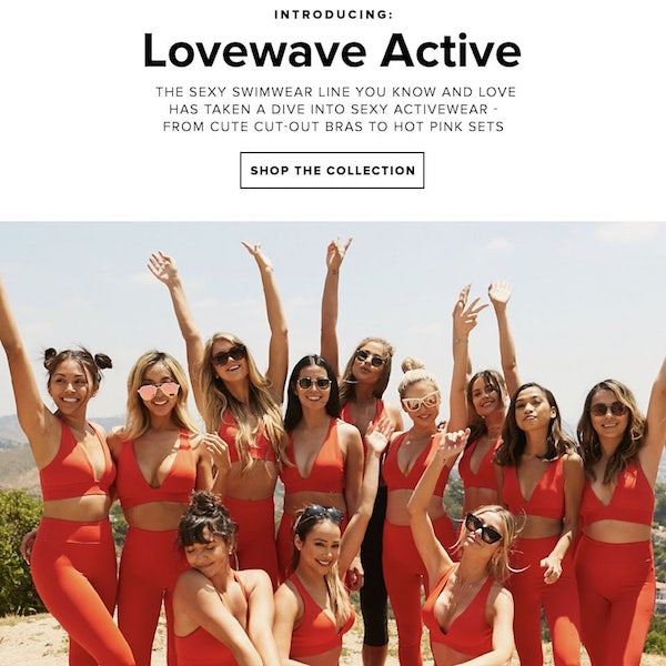 lovewave Activewear Spring 2018 Collection