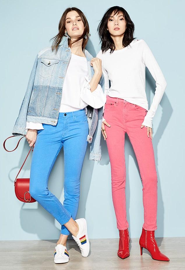 rag & bone JEAN High-Rise Skinny-Leg Jeans