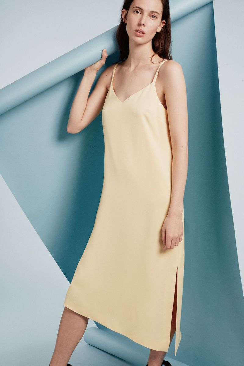 Club Monaco Sarana Slip Dress