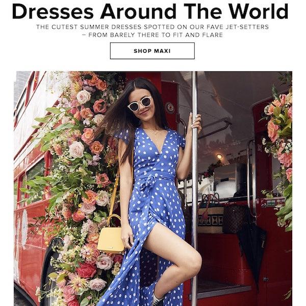 Dresses Around The World: Summer 2018 Getaway Dress Guide