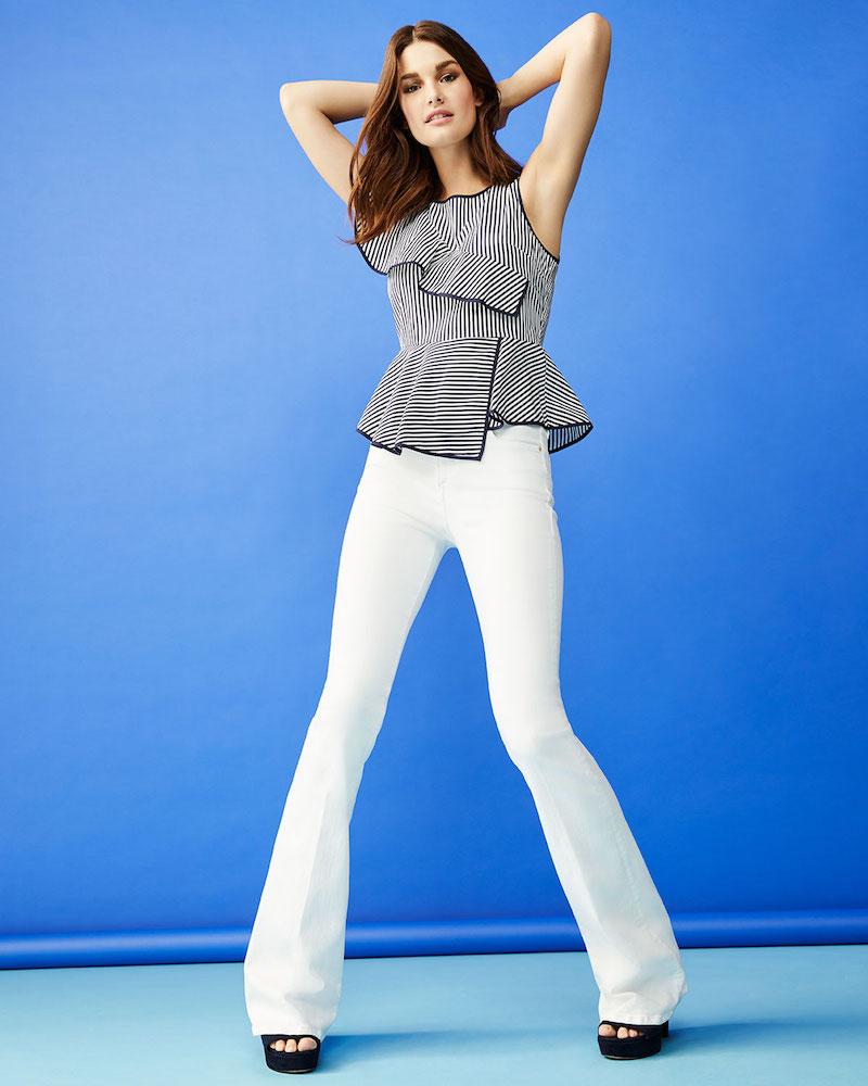 FRAME Le High Flare Jeans 1