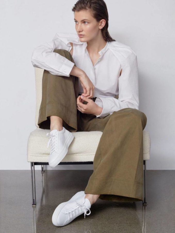 JW Anderson Floating Sleeve Belted Shirt
