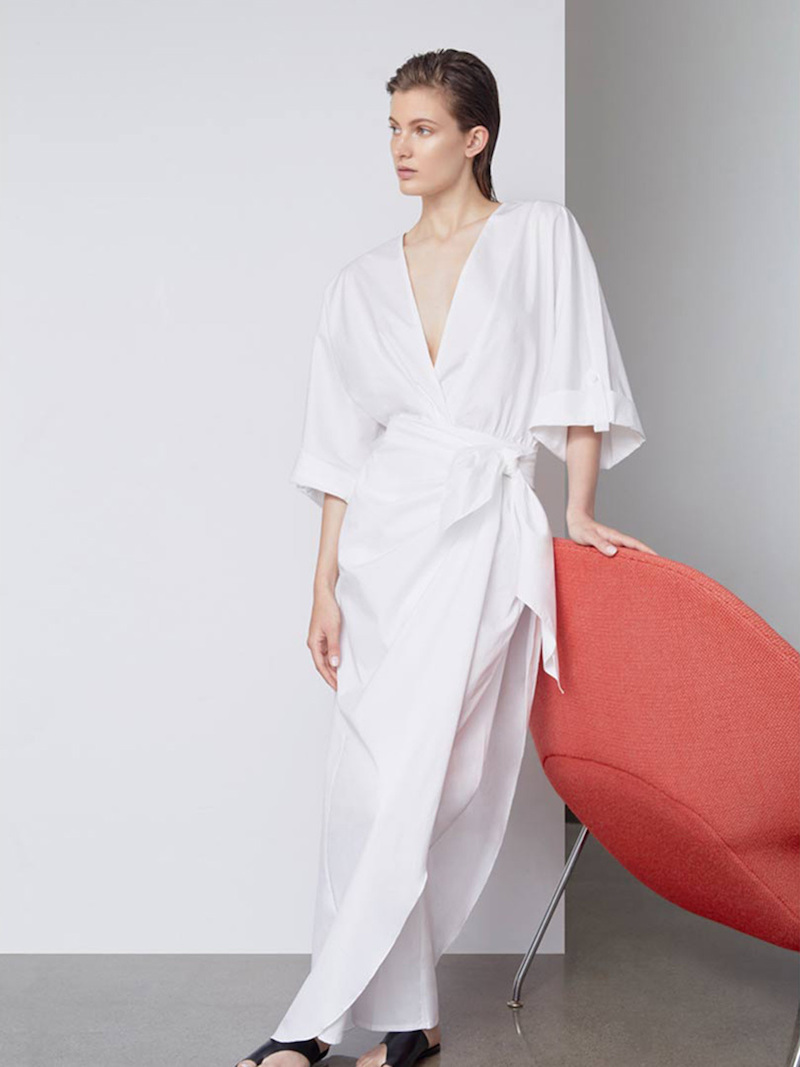 Johanna Ortiz M'O Exclusive Lewis Carroll Cotton Poplin Jumpsuit