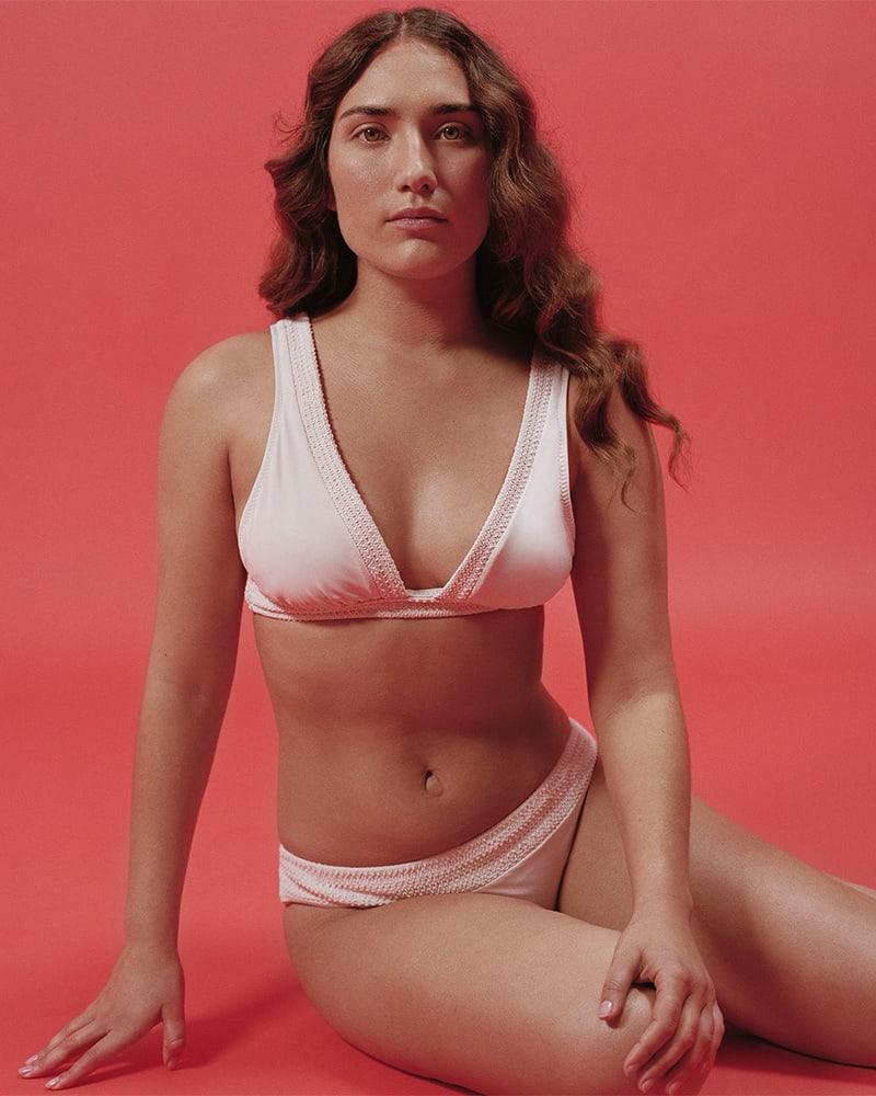 Kisuii Noa Smocked Bikini Top
