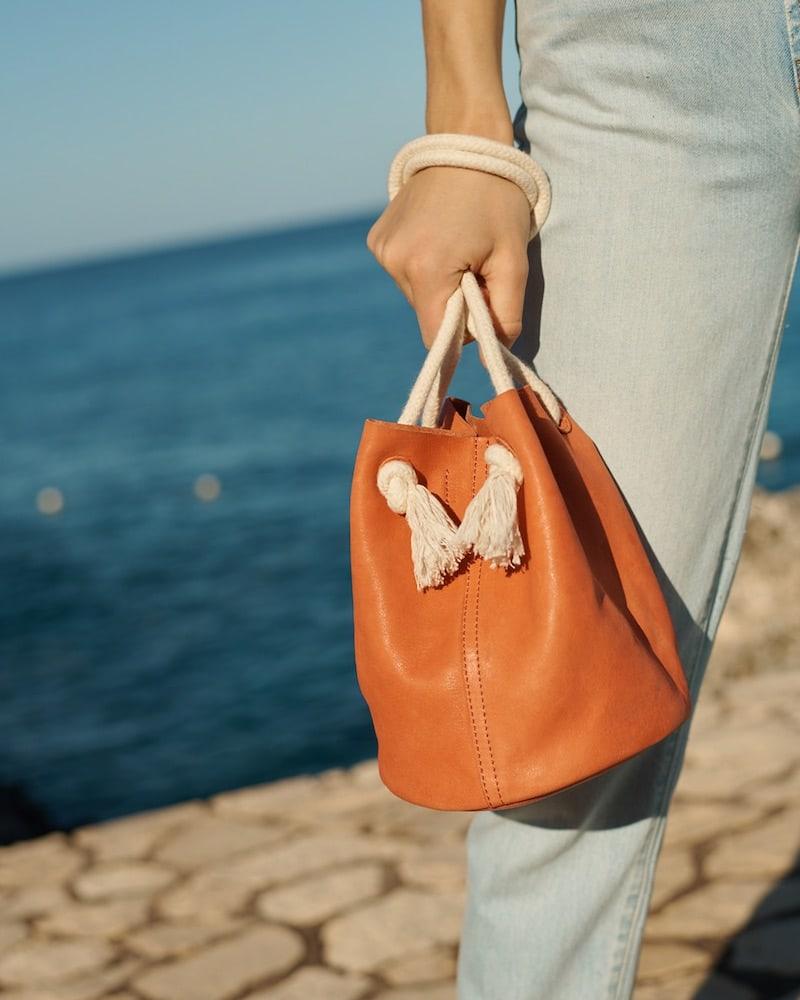 Madewell The Siena Convertible Bucket Bag
