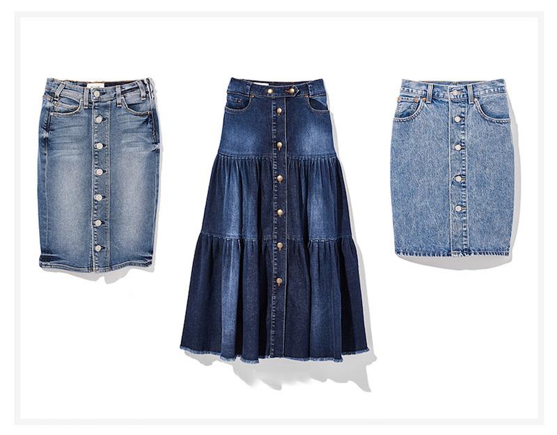 McGuire Denim Cartagena Pencil Skirt