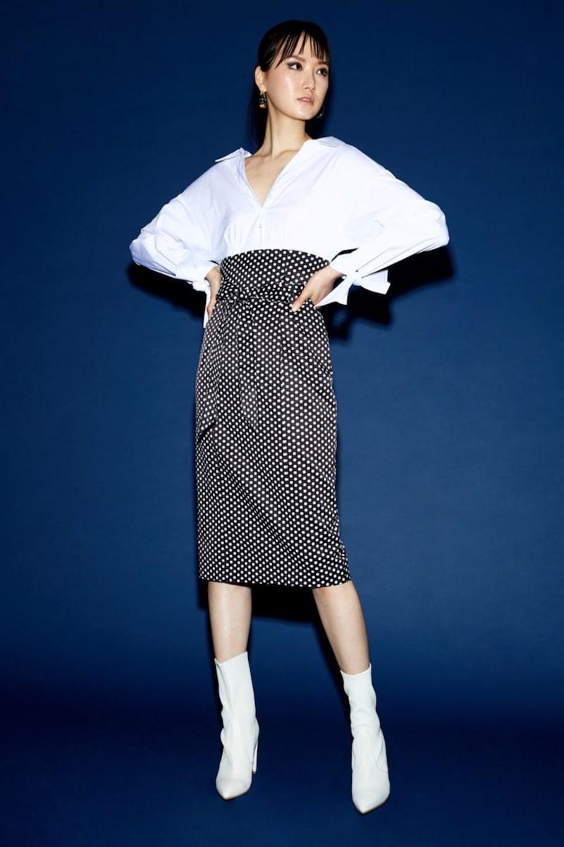 Milly Miranda Polka-Dot Shirt Dress