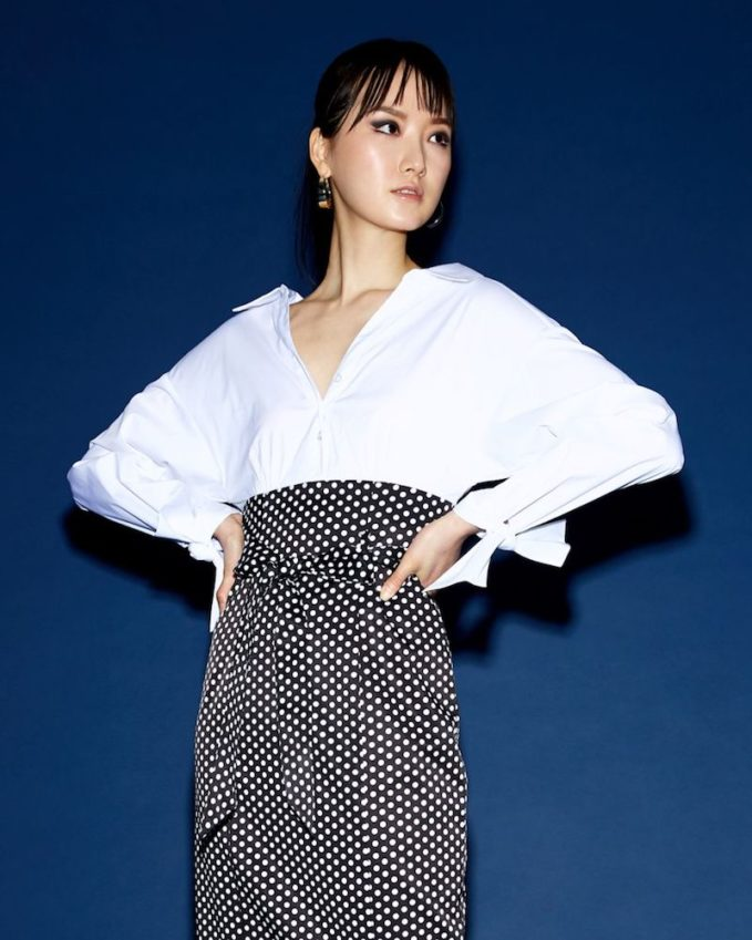 Milly Miranda Polka-Dot Shirt Dress 1