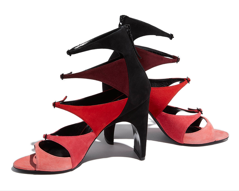Pierre Hardy Lula Suede Sandals