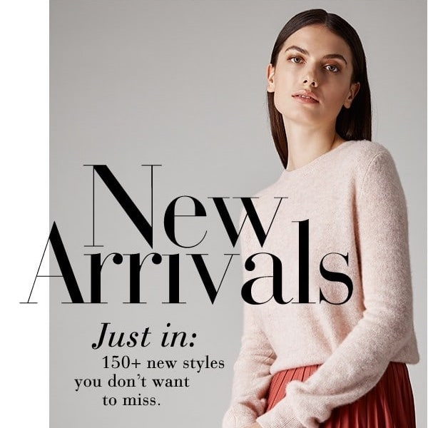 Pre-Fall 2018 New Arrivals at Saks Fifth Avenue