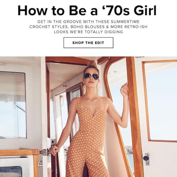REVOLVE Fashion Edit // How to Be a '70s Girl