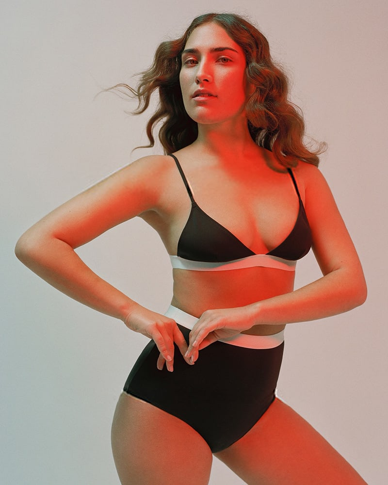 Rochelle Sara Garine Triangle Bikini Top