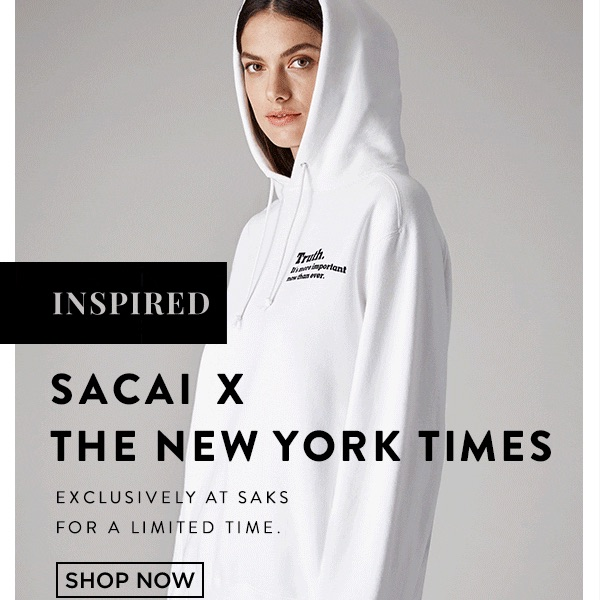 The Truth Is Hard: Sacai x the New York Times Collaboration