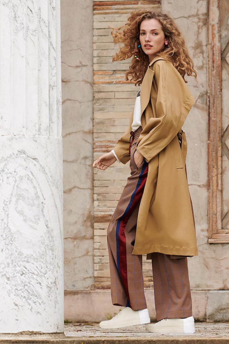 Sea Kamille Trench Coat
