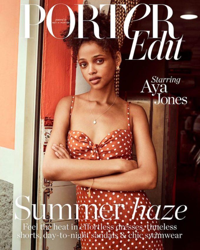 Summer Breeze: Aya Jones for The EDIT